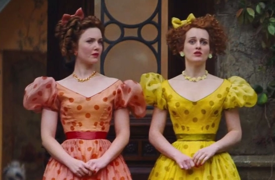 Holliday Grainger as Anastasia and Sophie McShera as Drisella