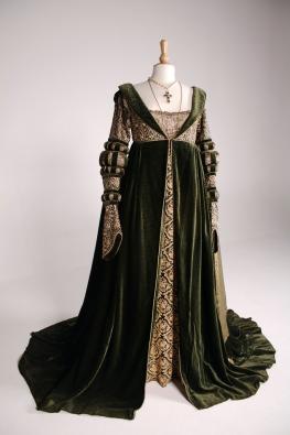 Baroness de Ghent's gown