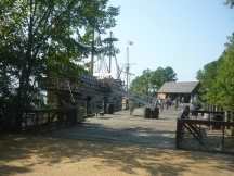 """Replica of """"Susan Constant"""" from my latest trip to Jamestown"""
