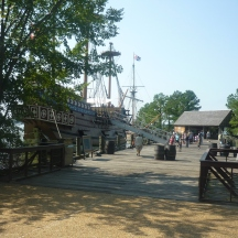 "Replica of ""Susan Constant"" from my latest trip to Jamestown"