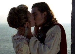 elizabeth and will kiss