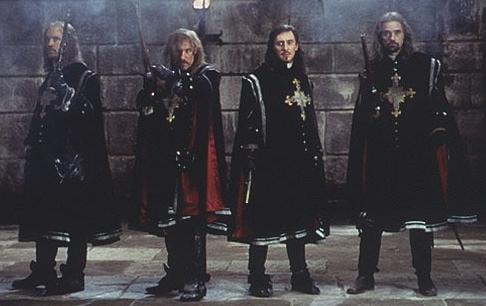 older musketeers