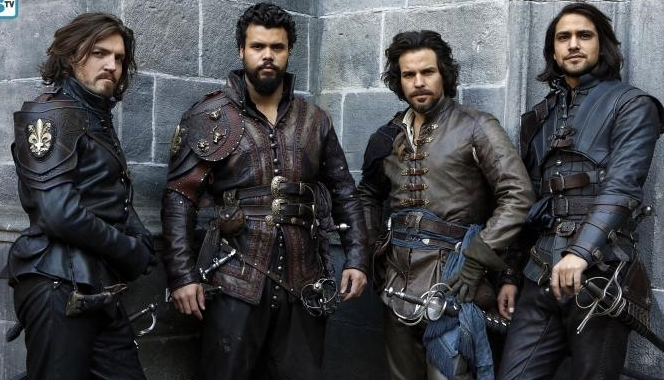 third season musketeers