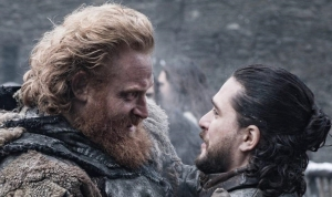 tormund and snow